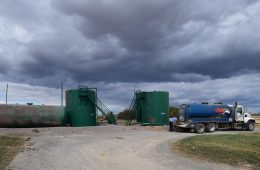 Fracking waste injection well