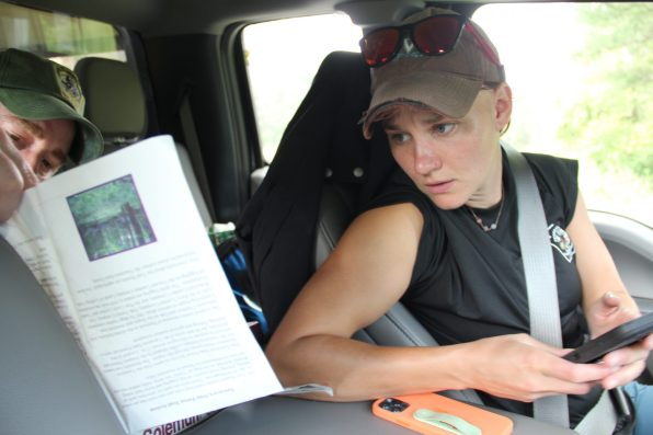 Emily Carrollo, the state bear biologist. Photo: Reid R. Frazier / The Allegheny Front
