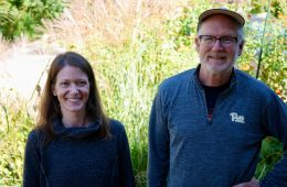 Tamara O'Brien and Ed Wrenn, MD