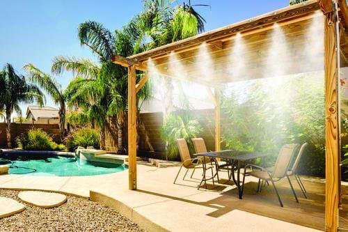Mist system installation in Phoenix