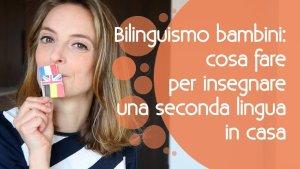 insegnare le lingue ai bambini cov