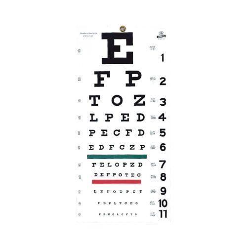 Graham Field Snellen Eye Chart
