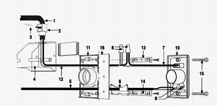 central vacuum power inlet valve installation instructions