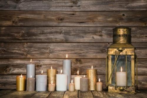 Deko mit Kerzen  Gemtlichkeit und Romantik zu Hause