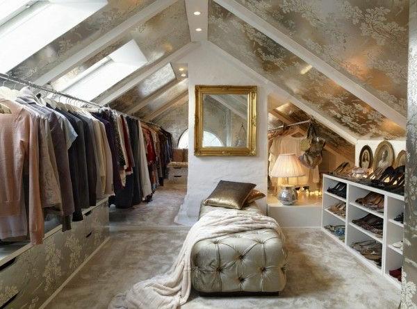 Ankleidezimmer Dachschrge  ein attraktives Ankleidezimmer gestalten