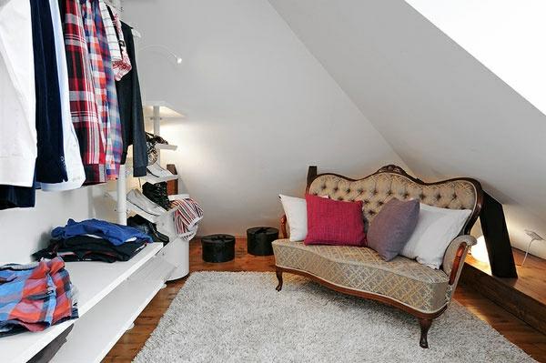 Ankleidezimmer Dachschrge  ein attraktives