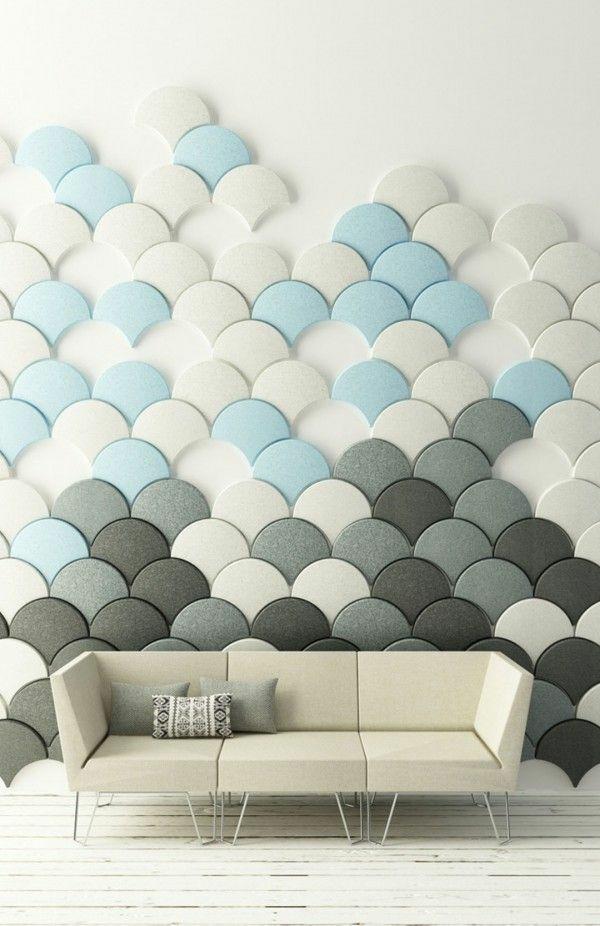 Wandgestaltung Ideen  stilvolle und schne Ideen fr einen neuen Look
