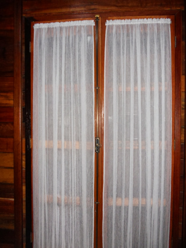 Gardinen fr Balkontr lassen den Raum einheitlich erscheinen