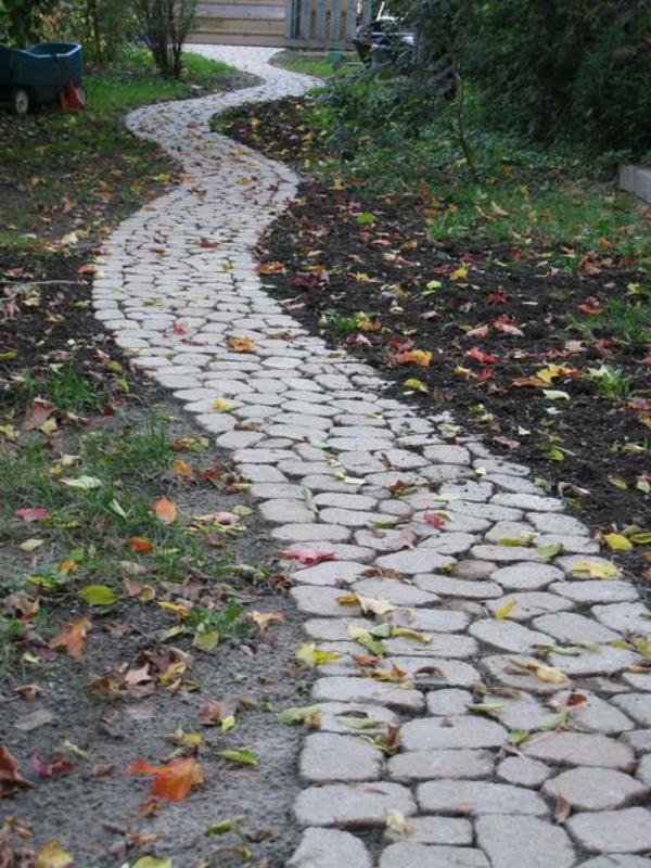 Den Garten selber planen  Tipps wie Sie einen Gartenweg