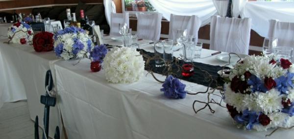 Hochzeitstischdeko fr einen unvergesslichen Hochzeitstag