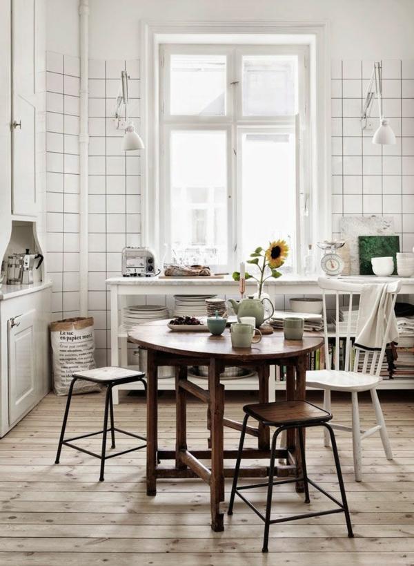 Kchentisch und Sthle  Wie Sie den Essraum und die Kche