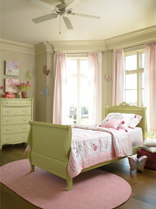 Wohnideen frs Kinderzimmer  Farbige Interieur Lsungen