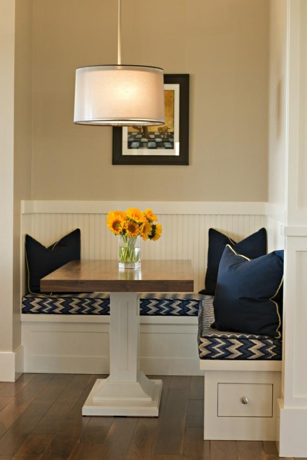 Eckbank bietet Ihnen mehr Sitzflche und sieht dabei stilvoll aus