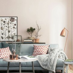 Living Room Design With Grey Sofa Decor Light Blue Walls Pastelltöne Als Wandfarbe - Kombinieren Sie Frei Die ...