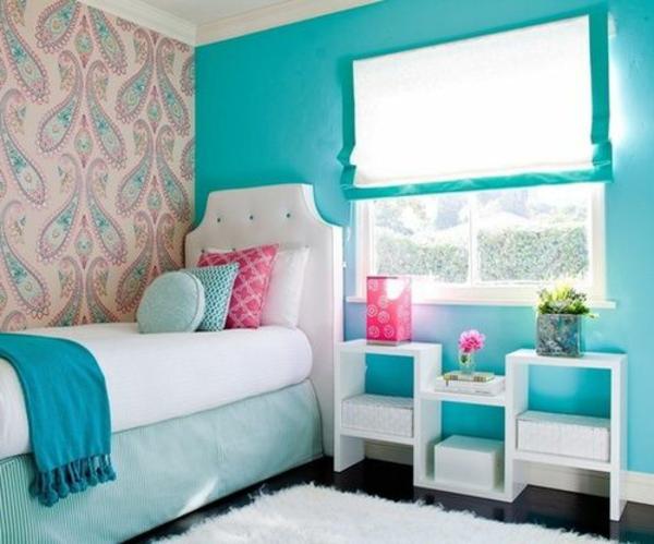 Bunte Tapeten knnen jedes Zimmer in Ihrer Wohnung aufpeppen
