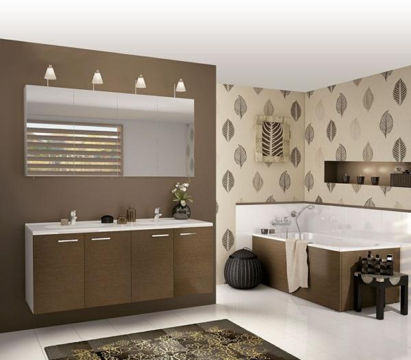 Badezimmer Tapeten  gestalten Sie Ihren persnlichen Erholungsort