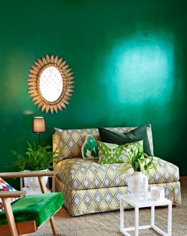 Trendfarbe Smaragdgrn  integrieren Sie Ihre
