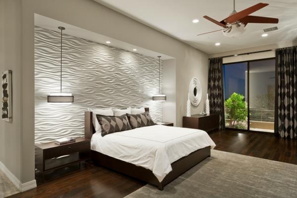 Wandgestaltung Ideen Furs Schlafzimmer