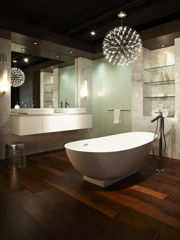 1001 Ideen fr Badbeleuchtung Decke  effektvolle und
