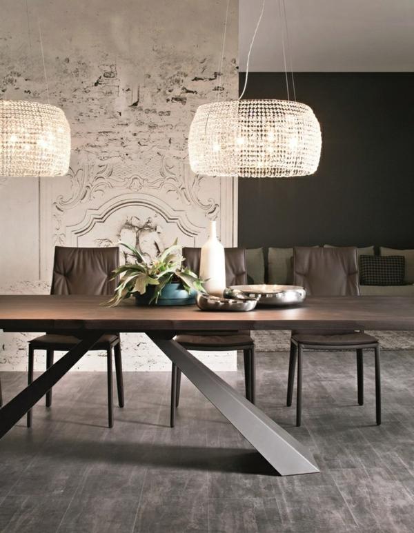 Hinreiende Esstischlampen individualisieren den Raum