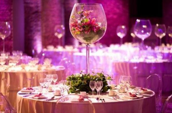 Hochzeitstisch Deko fr einen unvergesslichen Hochzeitstag voller Glanz