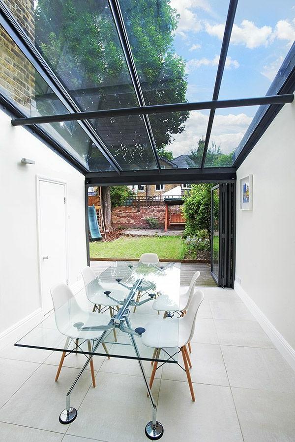 Glasdach Terrassen als Hit im modernen Lebensstil