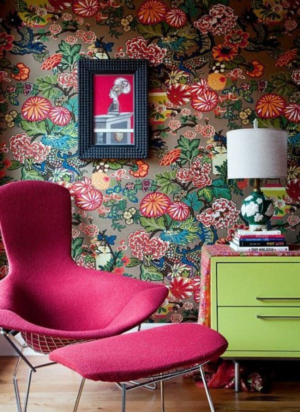 Ausgefallene Tapeten vertreiben die Langweile aus Ihrem Zimmer