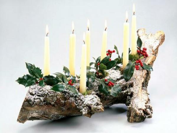 Weihnachtsdeko Holz Balcon