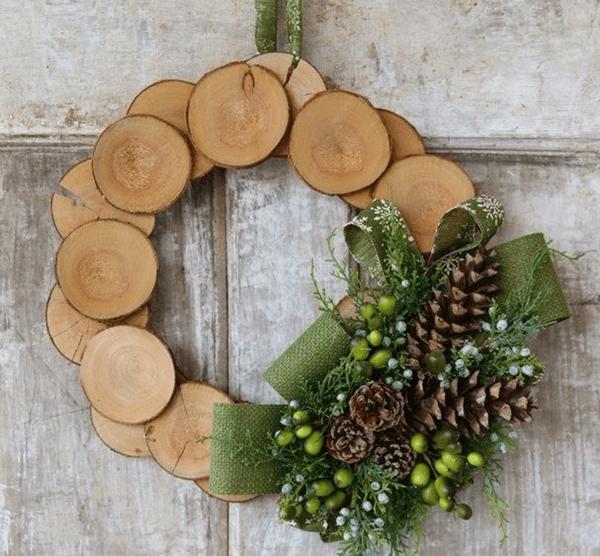 weihnachtsdekoration aus holz selbst gemacht - boisholz,