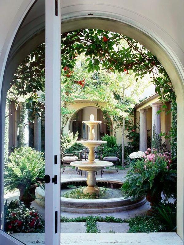 Springbrunnen Designs die Sie fr Ihre Gartengestaltung inspirieren
