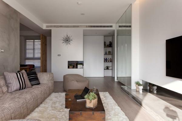 design wohnzimmer braun beige wei inspirierende bilder von, Innenarchitektur ideen