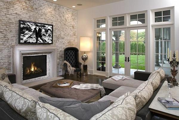 Coole Gestaltungsmglichkeiten Wohnzimmer die Sie beeindrucken