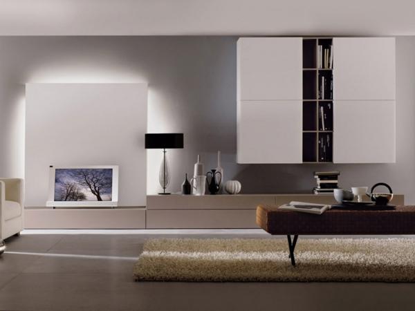 Wohnzimmermbel  Tolle WohnwandDesigns die Sie inspirieren
