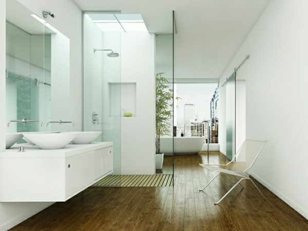 Duschwnde Designs  Die Dusche abgrenzen