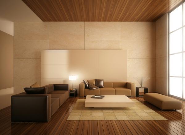 Holzdecke  sorgen Sie fr eine warme Raumausstrahlung
