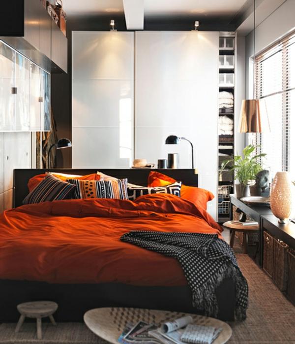 Einrichtungsideen frs Schlafzimmer  modern elegant und