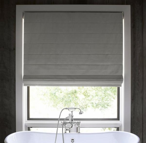 Raffrollos frs Badezimmer sorgen fr eine vollkommene Badeinrichtung