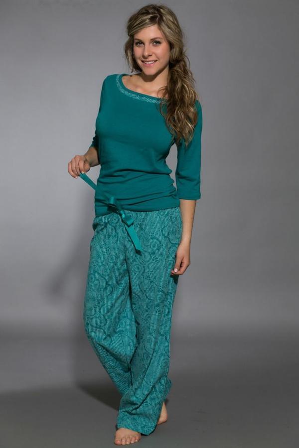 Schlafanzug fr Damen  auch beim Schlaf schn und modern aussehen