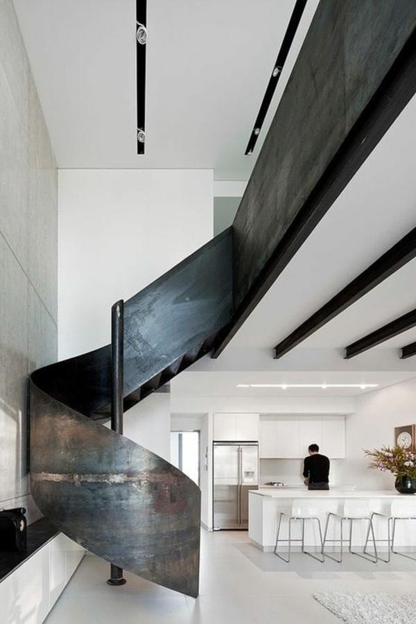 modern kitchen art island with built in seating ausgefallene treppengeländer designs für die innentreppe
