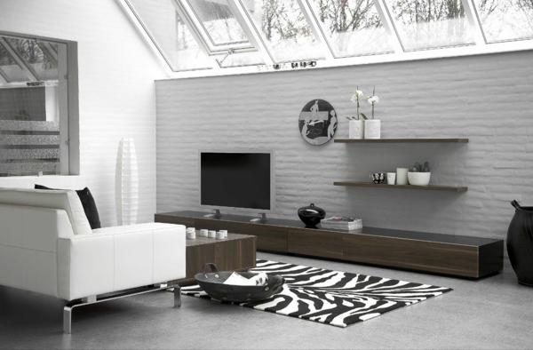 wohnzimmertisch schwarz wei - boisholz - Dekoartikel Wohnzimmer