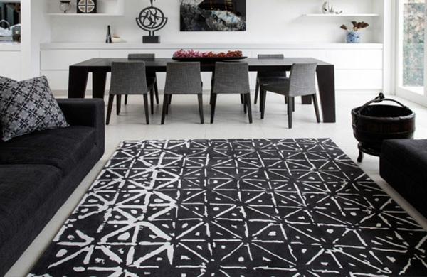 Teppich Wohnzimmer  Der lichteste Weg den Zimmerlook zu ndern