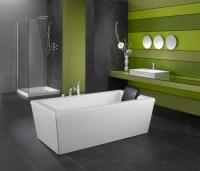 Freistehende Badewanne fr eine luxurise ...