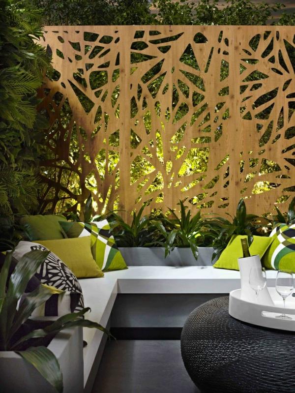 Moderne Gartenbank Designs  Tolle Auenmbel fr den Garten