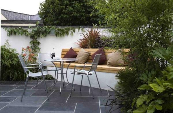 ideen gartengestaltung modern » terrassenholz, Garten und Bauten