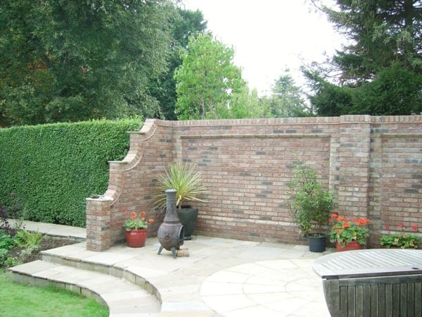 Gartenmauern mit KletterpflanzenSorgen Sie fr ein schnes Exterieur