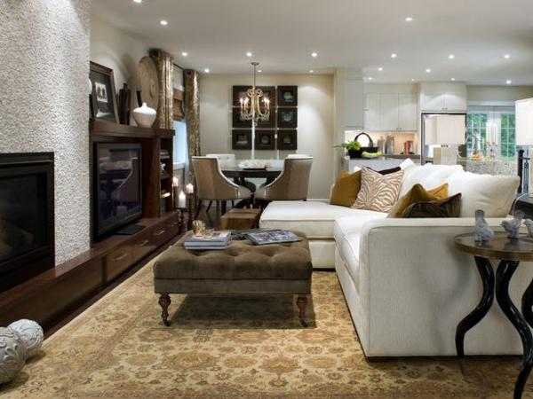 Wohnzimmer einrichten  Beispiele die sehenswert sind
