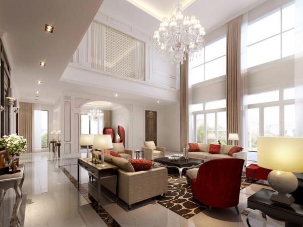 modern look living room chaise lounge furniture wohnzimmer einrichten - beispiele, die sehenswert sind