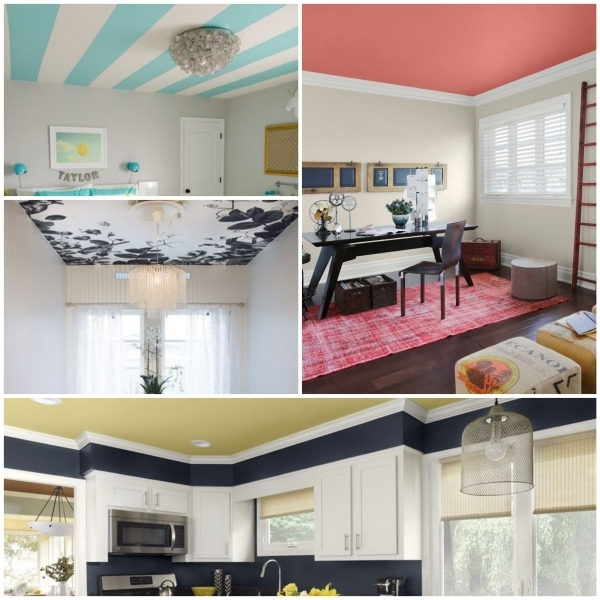 Zimmerdecke farbig streichen  sind Sie dafr oder dagegen