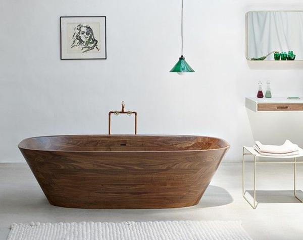 Freistehende Badewanne  20 inspirierende Designs frs Bad