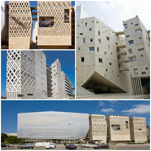 Beton Fassade von Saint Joseph Universitt in Beirut